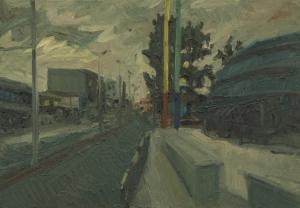 oil on canvas, 70x100