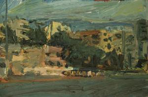 oil on canvas panel, 24x36